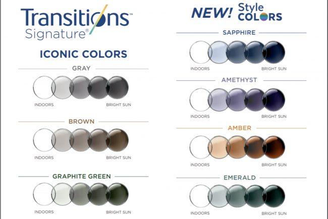Transitions® colores y tonalidades